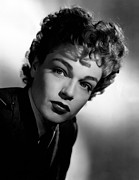 Simone Framed Prints - Simone Signoret, 1948 Framed Print by Everett