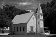 Christopher Holmes - Simple Country Church - BW