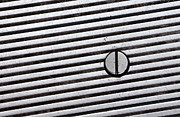Grate Metal Prints - Simple Geometry Metal Print by Dan Holm