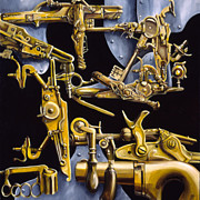 Bolt-action Prints - Simple Machines Print by Sean Gautreaux