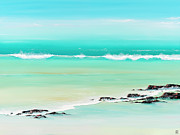 Surf Artist Paintings - Simple Sweet Thrills by Colin Perini
