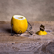 Lemon Art Photo Posters - Simple Things 10 Poster by Nailia Schwarz