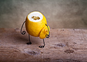 Lemon Art Photo Posters - Simple Things 12 Poster by Nailia Schwarz