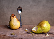 Pear Art Photo Prints - Simple Things 14 Print by Nailia Schwarz