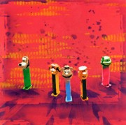 Toys Mixed Media - Simple Things in Life Make Me Smile by Iosua Tai Taeoalii