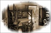 Loom Prints - Simpler Time Print by Cecil Fuselier