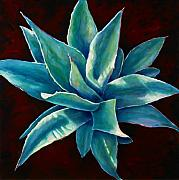 Cactus Paintings - Simply Succulent by Shannon Grissom