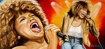 Tina Turner Prints - Simply the Best Print by Al  Molina