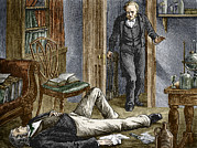 Simpson Prints - Simpson Researching Anaesthetics, 1840s Print by Sheila Terry