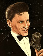 Sinatra Art Posters - Sinatra Poster by Bruce Lennon