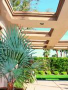 Sinatra Patio Palm Springs Print by William Dey