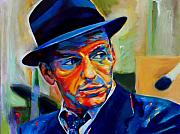 Crooner Framed Prints - Sinatra Framed Print by Vel Verrept