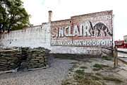 Fine Photography Art Photo Originals - Sinclair Motor Oil by James Steele
