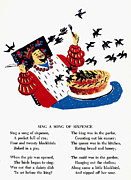 Rhyme Prints - Sing A Song Of Sixpence Print by Granger