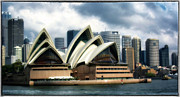Sydney Harbour Posters - Sing Softly Poster by Joan Carroll