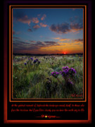 Inspirational Poster Framed Prints - Sing to Life Framed Print by Phil Koch