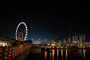 Singapore Waterfront Print by Jaroon Ittiwannapong