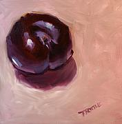 Patti Trostle - Single Plum Print Wall...