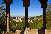 Ancient Architecture Framed Prints - Sintra Balcony Framed Print by Carlos Caetano