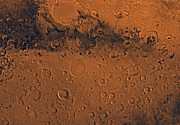 Impact Art - Sinus Sabeus Region Of Mars by Stocktrek Images