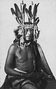Mid Adult Framed Prints - Sioux Chief Framed Print by J E Whitney