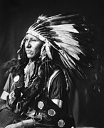 1899 Framed Prints - SIOUX NATIVE AMERICAN, c1898 Framed Print by Granger