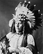 Adolph Art - SIOUX NATIVE AMERICAN, c1899 by Granger