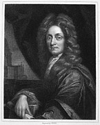 Kneller Framed Prints - Sir Christopher Wren Framed Print by Granger