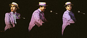 Sir Elton John 3 Print by Dragan Kudjerski