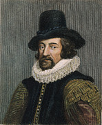 Francis Framed Prints - Sir Francis Bacon (1561-1626) Framed Print by Granger