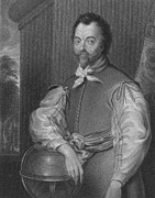 Francis Prints - Sir Francis Drake, English Explorer Print by Photo Researchers