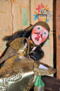 Folk Art Photos - Sir Galahad by Jan Amiss Photography