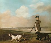 Manor Painting Posters - Sir John Nelthorpe Poster by George Stubbs