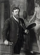 Portrait Painter Prints - Sir Lawrence Alma-tadema 1836-1912 Print by Everett