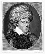Turban Framed Prints - Sir Robert Shirley Framed Print by Granger