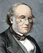 Reformer Photos - Sir Rowland Hill, Postal Reformer by Sheila Terry