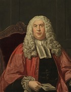 British Portraits Art - Sir William Blackstone 1723-1780 by Everett