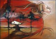 Siren Print by Jacque Hudson