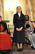 Prostitution Prints - Sister Marie Claude Naddaf Of Syria Print by Everett