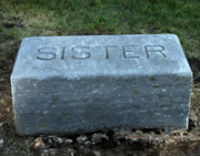 Gravestones - Sister by Peter Piatt