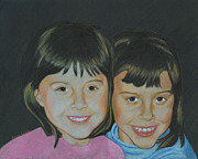 Sisters  Print by Ana Tirolese