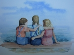 Little Girls Originals - Sisters by Christy Vitale
