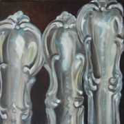 Reflective Surfaces Art - Sisters Sterling by Amy Higgins