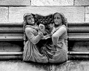 Joseph Duba Art - Sisters with a Cause Gargoyle Univ of Chicago 2009 by Joseph Duba