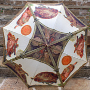 Umbrellas Metal Prints - Sistine Chapel Umbrella Metal Print by Joy Tudor