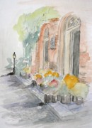 Julie Lueders Originals - Sites of Boston by Julie Lueders 