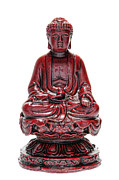 Sculpture Photo Posters - Sitting Buddha  Poster by Olivier Le Queinec