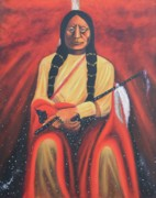 Americans Originals - Sitting Bull - Siuox Shaman by Art Enrico