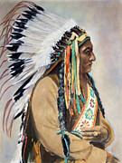 Chief Framed Prints - Sitting Bull (1834-1890) Framed Print by Granger
