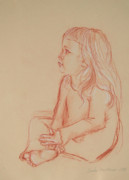 Jennifer Christenson - Sitting Girl